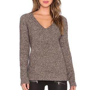 ATM Revolve Raglan Cozy V-Neck Sweater